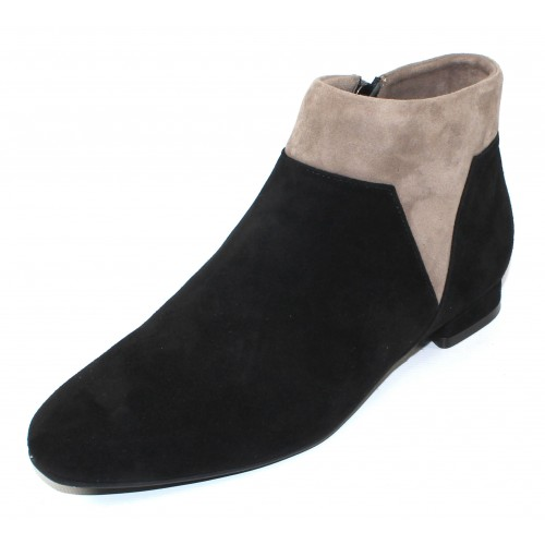 Beautifeel Women's Lainey In Black/Fall Taupe Suede