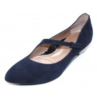 Beautifeel Women's Lilou In Dark Navy Suede
