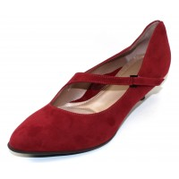 Beautifeel Women's Lilou In Merlot Suede