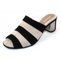Beautifeel Women's Makena In Black/Off White Suede