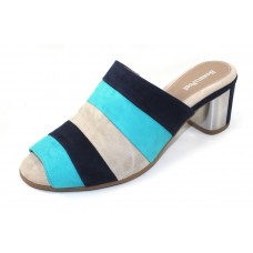 Beautifeel Women's Makena In Ocean Multi Suede