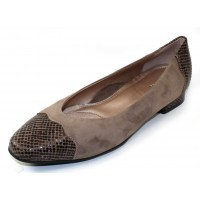 Beautifeel Women's Myla In Fall Taupe Suede/Tarta