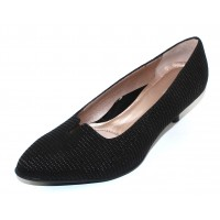 Beautifeel Women's Mystique In Black Linear Embossed Suede