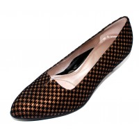 Beautifeel Women's Mystique In Bronze Printed Suede