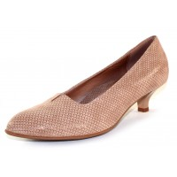 Beautifeel Women's Mystique In Champagne 3D Scale Printed Suede