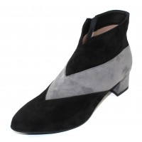 Beautifeel Women's Ofelia In Black/Grey Suede