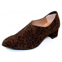 Beautifeel Women's Runa In Leopard Linear 3D Suede