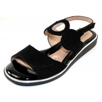 Beautifeel Women's Sandra In Black Suede