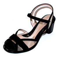 Beautifeel Women's Sunny In Black Suede/Mesh