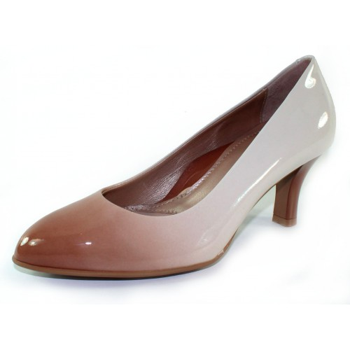 Beautifeel Women's Topaz In Biscotti/Off White Degrade Patent Leather