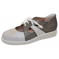 Beautifeel Women's Vega In Multi Metallic Satin Leather