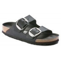 Birkenstock Women's Arizona Big Buckle In Black Oiled Leather
