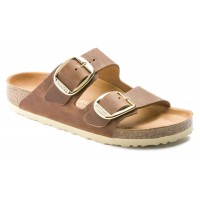 Birkenstock Women's Arizona Big Buckle In Cognac Oiled Leather