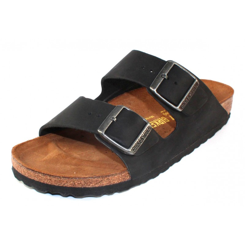 483307c44bbc Privacy Policy · Events · Birkenstock Men s Arizona In Black Oiled Leather  - Narrow Width