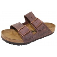 Birkenstock Women's Arizona In Habana Oiled Leather