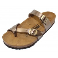 Birkenstock Women's Mayari In Electric Taupe Birki-Flor