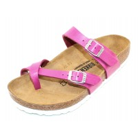 Birkenstock Women's Mayari In Graceful Magenta Haze Birko-Flor