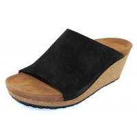 Birkenstock Women's Namica By Papillio In Black Suede