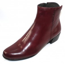Canal Grande Women's Betty In Sangria Wine Leather Leather