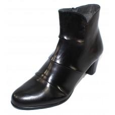 Canal Grande Women's Madita In Black Glove Leather