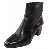 Canal Grande Women's Polly In Black/Alloro/Blue/Sangria Leather