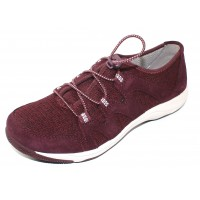 Dansko Women's Holland In Wine Suede/Fabric