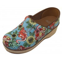 Dansko Women's Jute Pro In Flamingo Canvas
