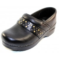 Dansko Women's Pavan In Black Milled Nappa Leather