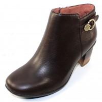Dansko Women's Perry Wp In Chocolate Waterproof Tumbled Leather