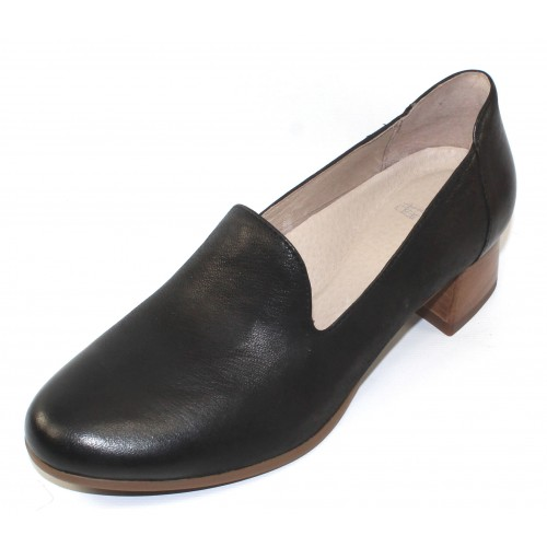 Dansko Women's Preston In Black Burnished Nubuck