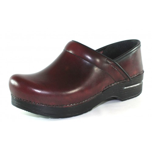 Dansko Women's Professional In Cordovan Cabrio Leather