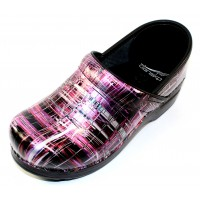 Dansko Women's Professional In Crosshatch Patent Leather