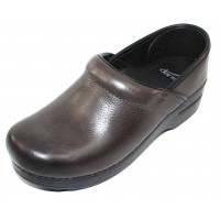 Dansko Women's Professional In Grey Burnished Nubuck
