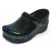 Dansko Women's Professional In Petrol Patent Leather