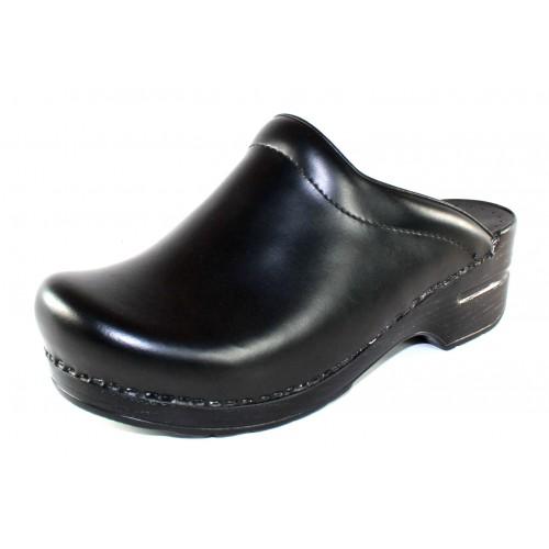 Dansko Women's Sonja In Black Cabrio Leather