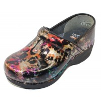 Dansko Women's Xp 2.0 In Multi Leopard Patent Leather