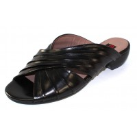 Everybody Women's 30252S4114 In Black Glove Leather