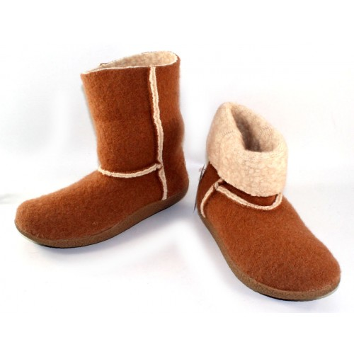 Giesswein Women's Bigelow In Almond Boiled Wool