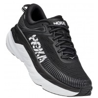 Hoka One One Women's Bondi 7 In Black/White