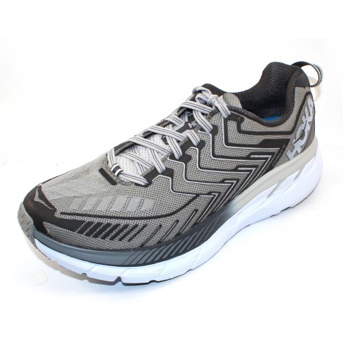 Hoka One One Men's Clifton 4 Wide In Griffin/Micro Chip