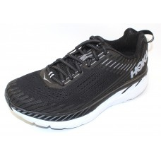 Hoka One One Men's Clifton 5 In Black/White