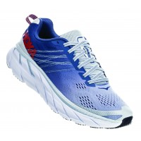 Hoka One One Women's Clifton 6 In Plein Air/Midnight Blue