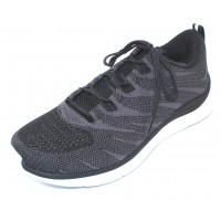 Hoka One One Women's Hupana Knit Jacquard In Black/White