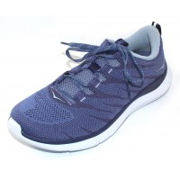 Hoka One One Women's Hupana Knit Jacquard In Marlin/Blue Ribbon