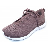 Hoka One One Women's Hupana Knit Jacquard In Toadstool/Metal