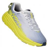 Hoka One One Women's Rincon 2 In Blanc De Blanc/Citrus