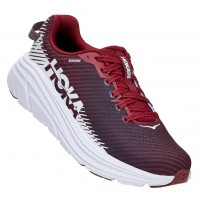 Hoka One One Women's Rincon 2 In Cordovan/White