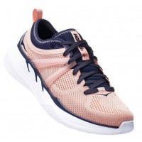 Hoka One One Women's Tivra In Dusty Pink/Mood Indigo