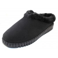 Ilse Jacobsen Women's Tulip 3150 In Black Microfiber/Faux Fur