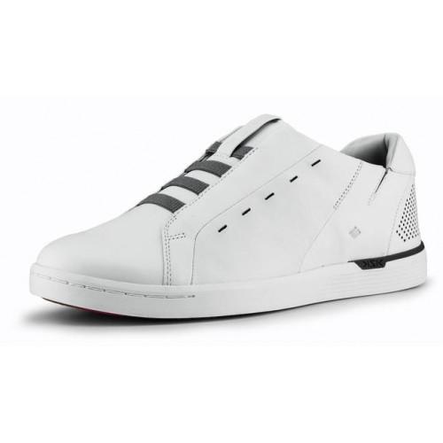 Kizik Men's New York In White Full Grain Leather